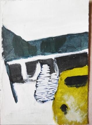 'Ader' 2012 – acryl op papier