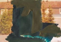 'Glorie' 2013 - acryl op print 26 x 18 cm