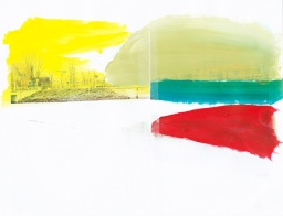 'Gracht' 2013 - acryl op print