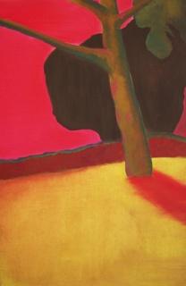 'Herinnering' 2011 - acryl en olieverf op doek, 115 x 75 cm