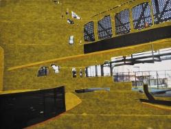 'Ruhrgebied 1' 2012 - tape op print