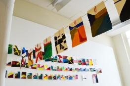 'Verstrijken' 2013 - acryl op papier