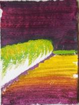 'Vervoering' 2013 - acryl op papier, 10 x 7 cm