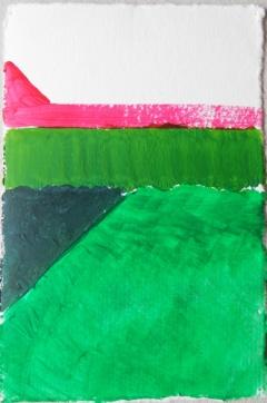 'Wal' 2013 - acryl op papier 10 x 7 cm
