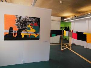 Samen met een leuke groep mensen heb ik ter plekke werk gemaakt bij Circa...dit. Met een aflsuitende expositie  28 augustus - 20 september 2015
